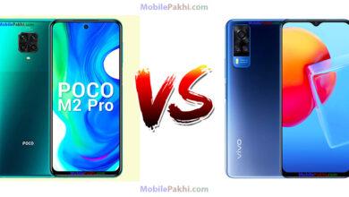 Xiaomi Poco M2 Pro vs Vivo Y51A Comparison