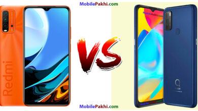 Xiaomi Redmi 9 Power vs Alcatel 3L (2021) Comparison